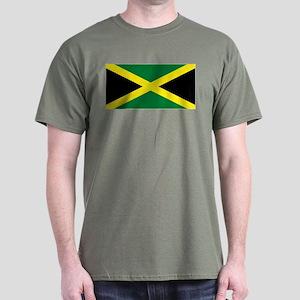 Jamaica National Flag Dark T-Shirt
