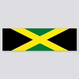Jamaica National Flag Bumper Sticker