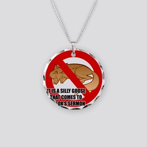 fox-snooze-faux-news3 Necklace Circle Charm