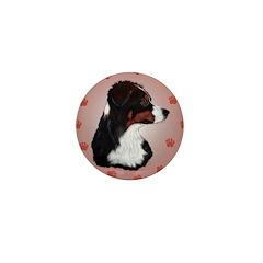 Australian Shepherd Profile Mini Button (10 pack)