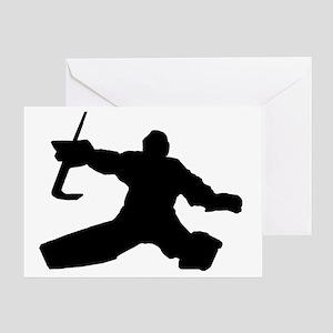 goalie1 copy Greeting Card