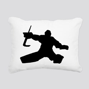 goalie1 copy Rectangular Canvas Pillow