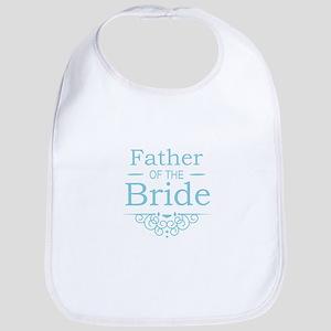 Father of the Bride blue Bib
