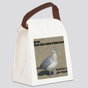 seagull_kettle_lg Canvas Lunch Bag