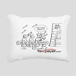 2-cartoon_viking_Large Rectangular Canvas Pillow