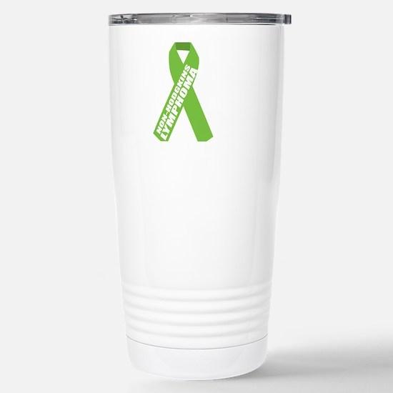 NH-Lymphoma--Hope-BLK Stainless Steel Travel Mug