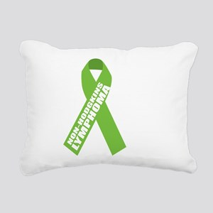 NH-Lymphoma--Hope-BLK Rectangular Canvas Pillow