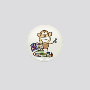 Scrapbook Monkey Mini Button