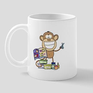Scrapbook Monkey Mug