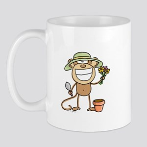 Gardening Monkey Mug