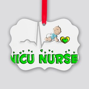 NICU Nurse Picture Ornament