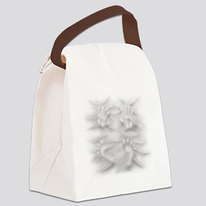 Hands And Feet Canvas Lunch Bag