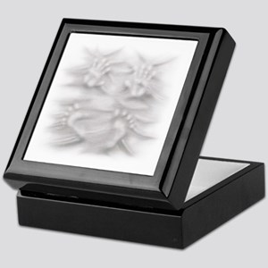 Hands And Feet Keepsake Box