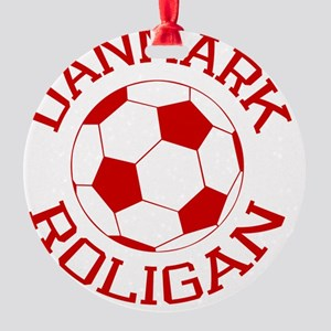 soccerballDK2 Round Ornament