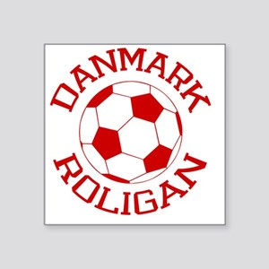 "soccerballDK2 Square Sticker 3"" x 3"""