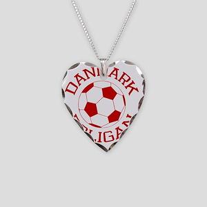 soccerballDK2 Necklace Heart Charm