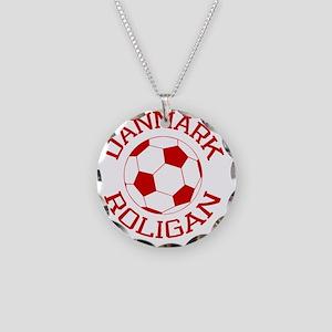 soccerballDK2 Necklace Circle Charm