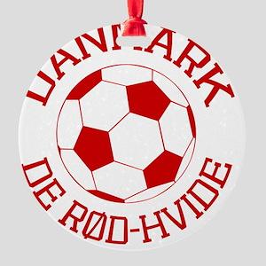 soccerballDK1 Round Ornament
