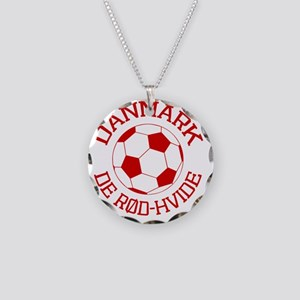 soccerballDK1 Necklace Circle Charm