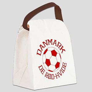soccerballDK1 Canvas Lunch Bag