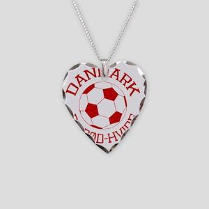 soccerballDK1 Necklace Heart Charm