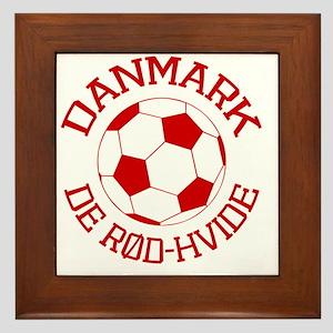 soccerballDK1 Framed Tile