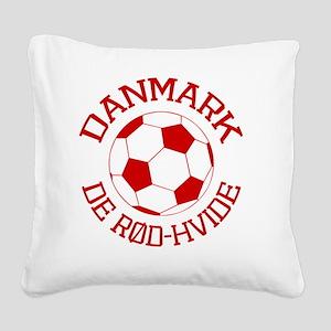 soccerballDK1 Square Canvas Pillow