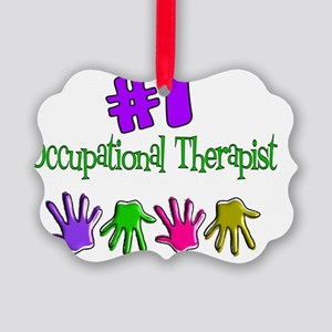Occupation Therapist Picture Ornament