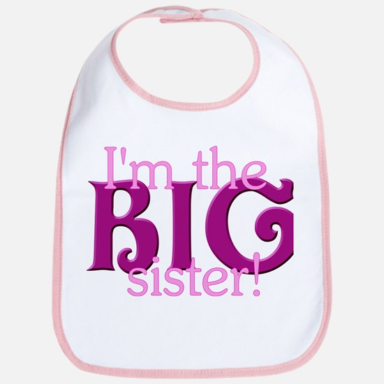 I'm the Big Sister Bib