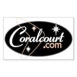 Coralcourt.com Rectangle Sticker