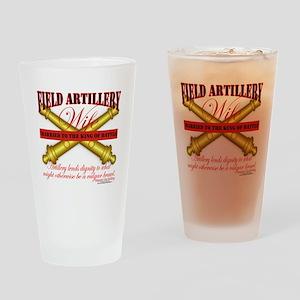 field artillery wife Drinking Glass