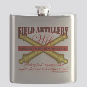 field artillery wife Flask