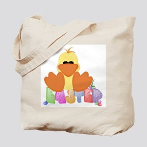 Easter Duck Tote Bag