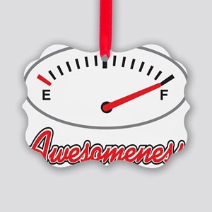 Full of Awesomeness Gauge Picture Ornament
