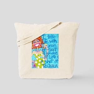 Tequila Goddess Tote Bag