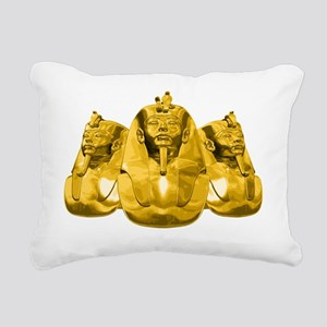GoldenPharaohs Rectangular Canvas Pillow