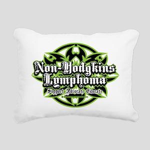 NH-Lymphoma-Tribal Rectangular Canvas Pillow
