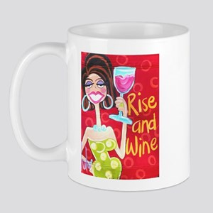 Rise and Wine Mug