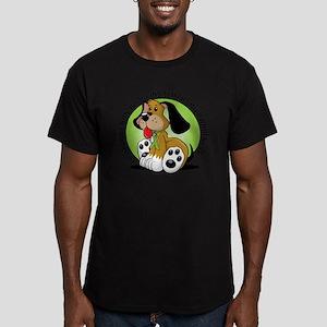 Non-Hodgkins-Lymphoma- Men's Fitted T-Shirt (dark)