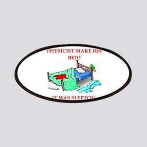 funny physics joke on gifts and t-shirts Patches