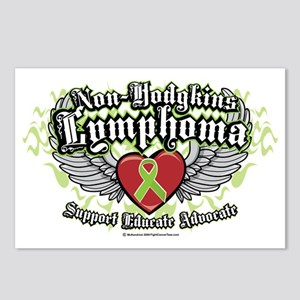 NH-Lymphoma-Wings Postcards (Package of 8)