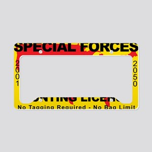 TH-License-SPECIAL-FORCES License Plate Holder