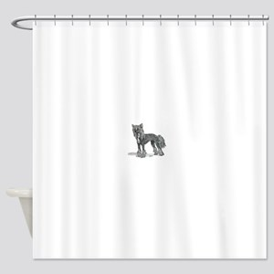 Chinese Crested Shower Curtain