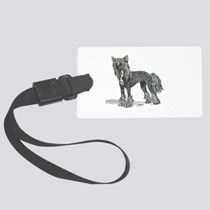 Chinese Crested Luggage Tag