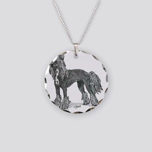 Chinese Crested Necklace
