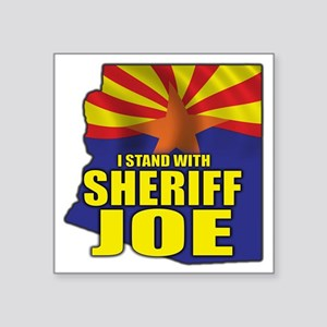 "sheriff_joe_shirt_cp2 Square Sticker 3"" x 3"""