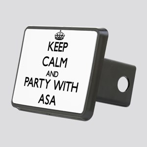 Keep Calm and Party with Asa Hitch Cover
