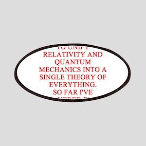 physics joke Patches