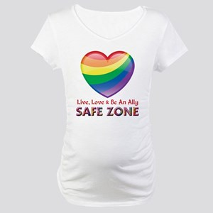 Safe Zone - Ally Maternity T-Shirt