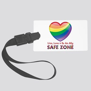 Safe Zone - Ally Luggage Tag